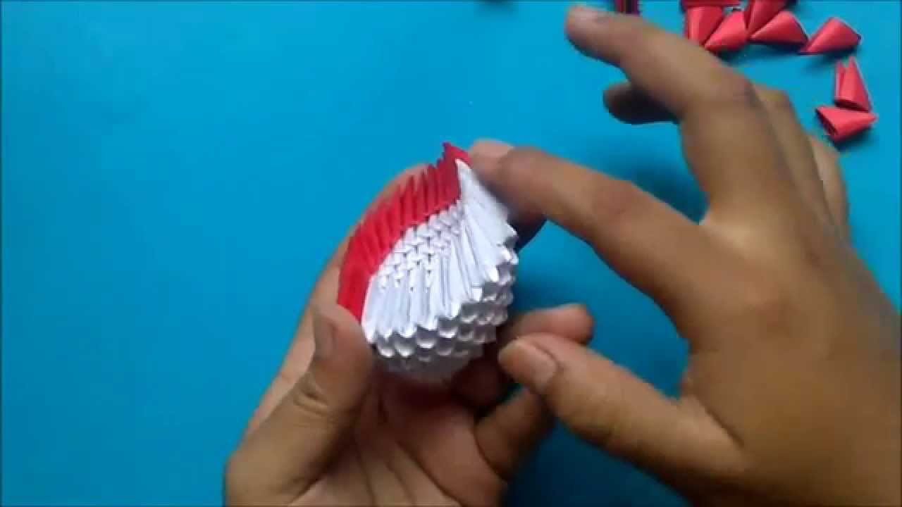 Flor Cala Origami 3d Youtube Psychologyarticles Info