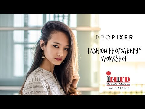 ProPixer Fashion Photography Workshop for INIFD Bangalore
