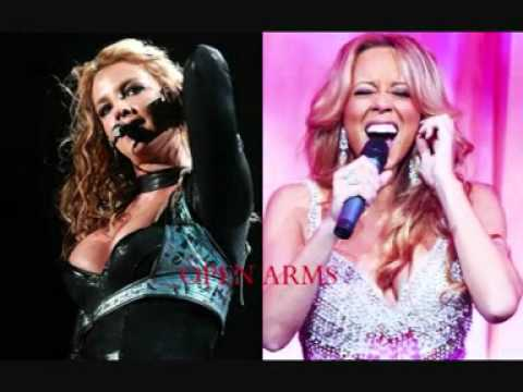 Britney Spears  Open Arms Mariah Carey