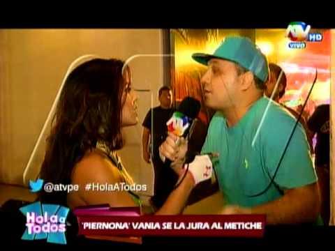 Bruno Agostini y Vania encaran al Metiche
