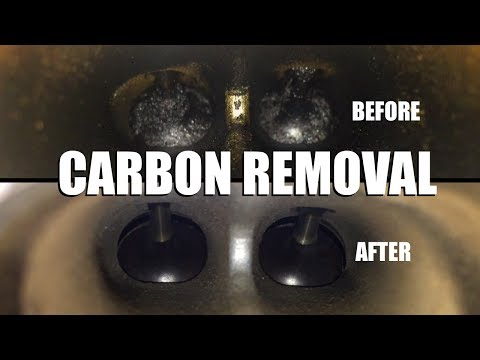 How to Walnut Blast Your Intake Valves (CARBON BUILDUP