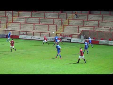 FC United 0-2 Carlisle United. 1 Nov 2016. FA Youth Cup