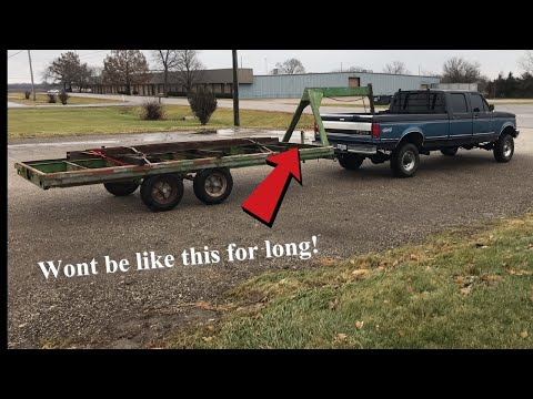 Building A Gooseneck Trailer (Pt.1 Getting The Steel)