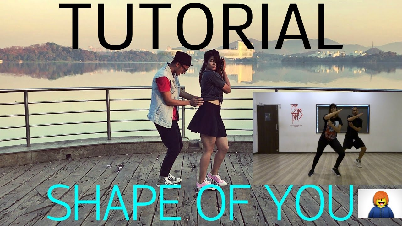 shape of you dance tutorial gaurav n chandni