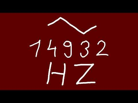 14932 hz triangle - YouTube