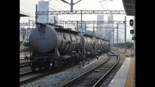 코레일 8551호 시멘트 화물열차 서울역 발차