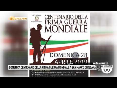TG BASSANO (24/04/2019) - DOMENICA CENTENARIO DELL...