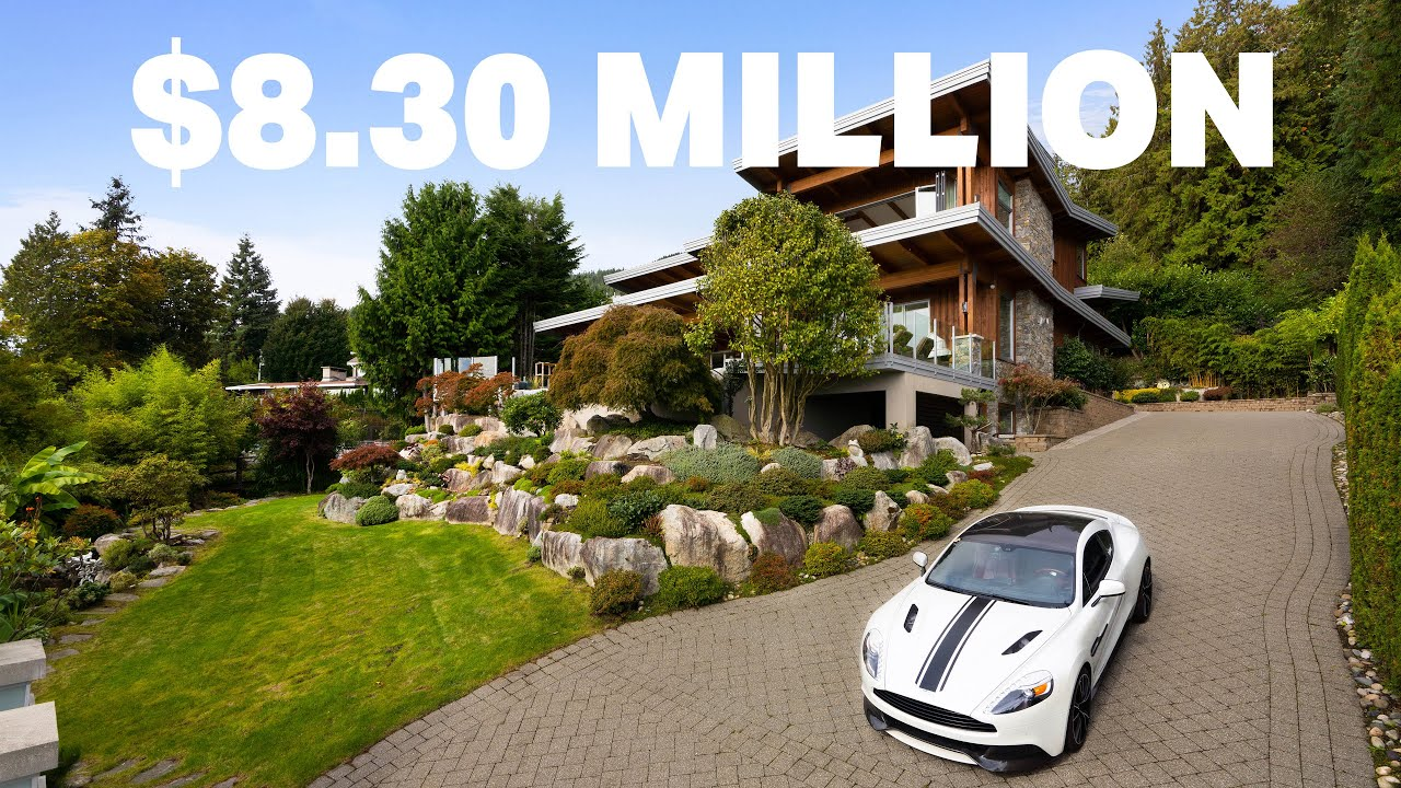 Tour this $8+ million dollar modern, Westcoast home | West Vancouver