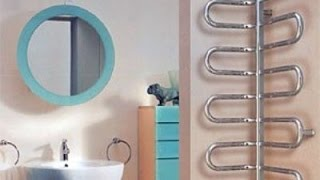 видео Какие виды сушилок можно использовать в ванной комнате
