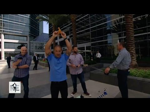Race Car Driver Tony Kanaan Wins 2nd DirecTV 100 on The RE Show - 4/15/15