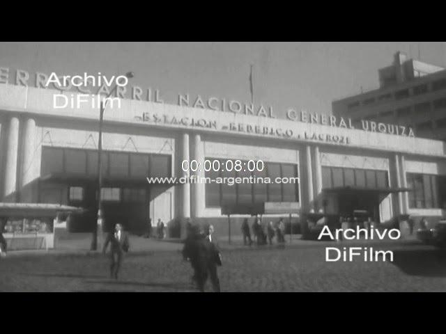 DiFilm - Imagenes del Ferrocarril General Urquiza 1969