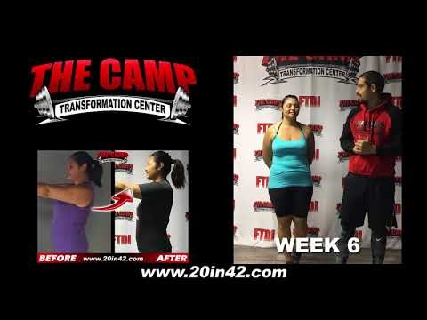 Bakersfield Weight Loss Fitness 6 Week Challenge Results - Victoria Z.