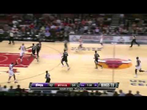 Chicago Bulls vs Sacramento Kings (Highlights) October 31, 2012