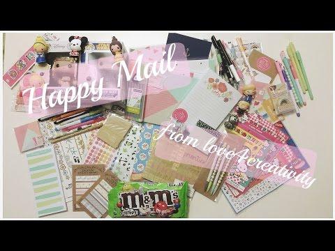Happy Mail from Love4creativity! | Aurora Cecilia