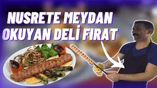 Nusret'e Meydan Okuyan Adanalı Deli Fırat!!!