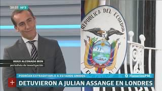 Hugo Alconada Mon: Los pormenores de la detención de Julian Assange - PM
