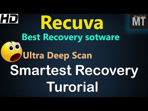 Recuva is Best Data recovery software for windows in 2016? Deep Scan recovery tutorial [HD]