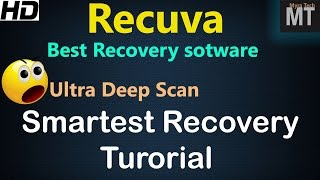 Recuva is Best Data recovery software for windows in 2019? Deep Scan recovery tutorial [HD]