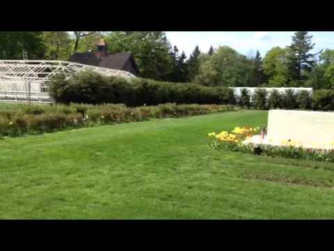 Franklin D. Roosevelt grave site