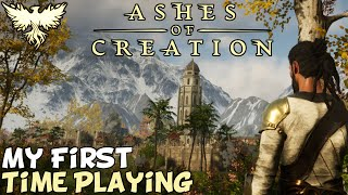 I Finally Played Ashes Of Creation Alpha 1 - My Thoughts.