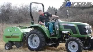 Mini Rotoenfardadora TAYTOR en Tractor Zoomlion