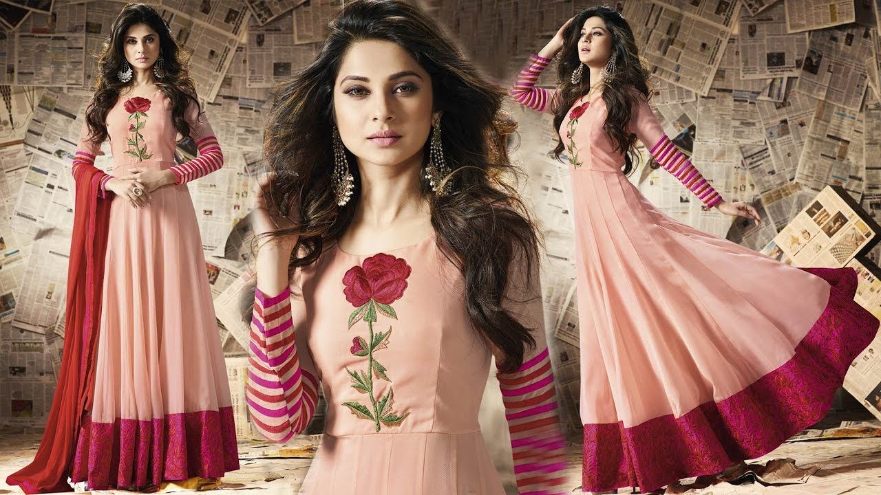 Womens Party Wear Gown Dresses Long Floor Length Anarkali Salwar