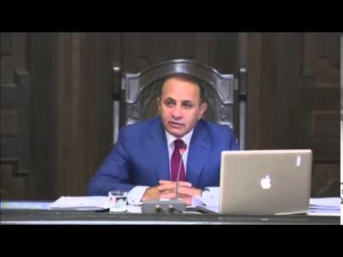 Armenia Deputy PM resignation announced - Oct 16, 2014