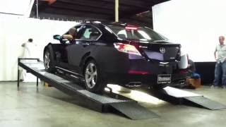 Acura TL SH-AWD Traction Test