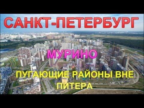 Санкт-Петербург. Пугающие районы вне Питера. Мурино Лен область.