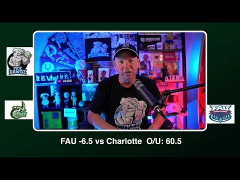 FAU vs Charlotte Free College Football Picks and Predictions CFB Tips Saturday 10/3/20