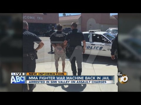 Captured: MMA Fighter 'War Machine' In Custody