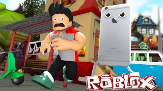 Minecraft ROBLOX - ESCAPE THE I-PHONE CRAZINESS - donut the dog