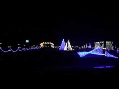 Nashville Christmas Lights @ Jellystone Park - YouTube