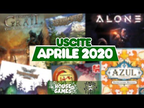 I Giochi da tavolo in USCITA ad APRILE 2020