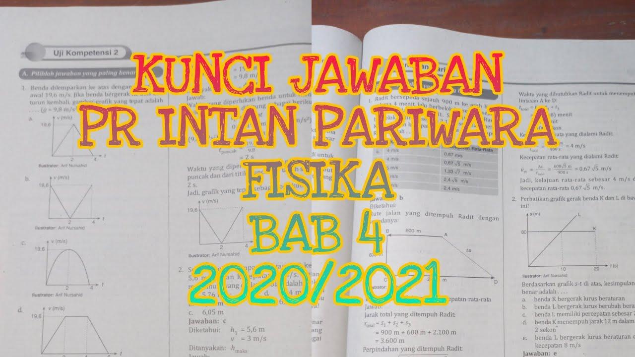 Kunci Jawaban Pr Intan Pariwara Fisika Bab 4 Kelas 10 2020 2021 Youtube