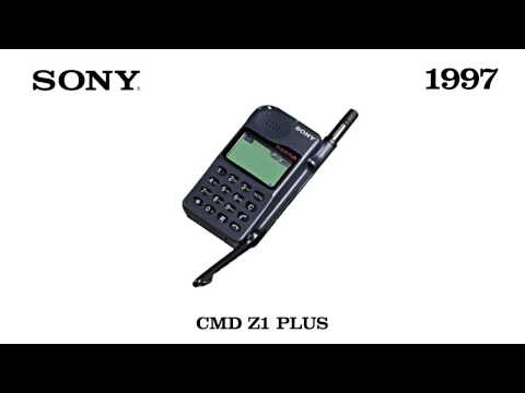 Sony Mobile Phones : Model 1997 - 2001