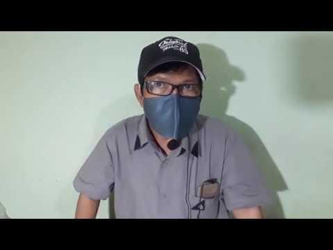 cara mudah membuat masker kain - YouTube