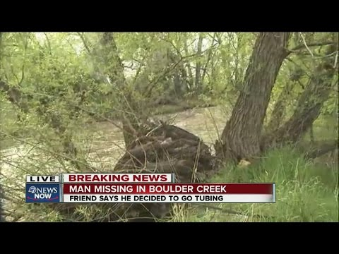 Search resumes for tuber missing in Boulder Creek: Friend says man had been drinking, smoking pot