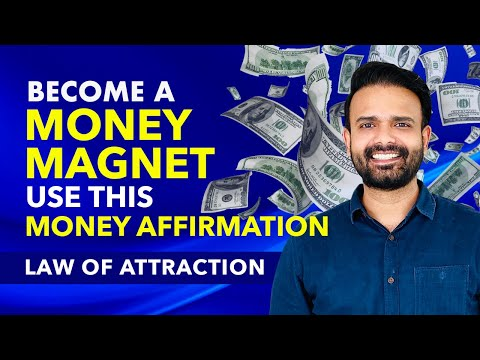BECOME A MONEY MAGNET Affirmations & Visualization Video 🤑 Powerful Affirmations For Wealth & Money