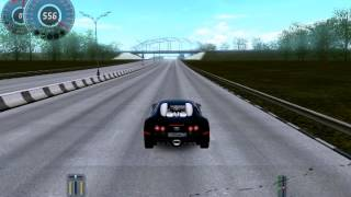 3d instructor 2.2.7 bugatti veyron 730 km/h Рекорд скорости!