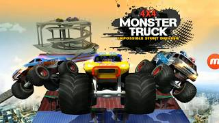 4x4 Monster Truck: Impossible Stunt Driving - GamePlay Review - Stunts Games For Kids - Free Games