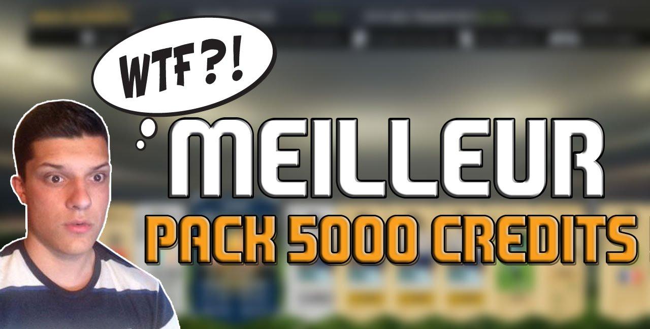 MON MEILLEUR PACK 5000 CREDITS ! [BONUS] - YouTube