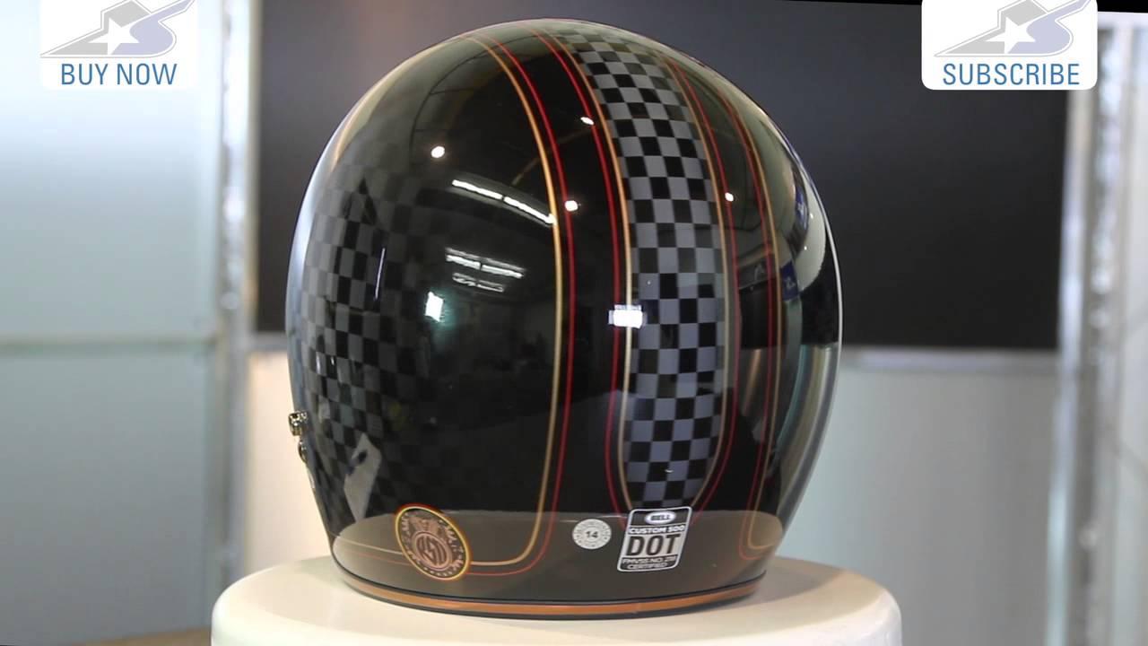 Bell Motorcycle Helmet >> Bell Custom 500 RSD Check It Helmet | Motorcycle Superstore - YouTube