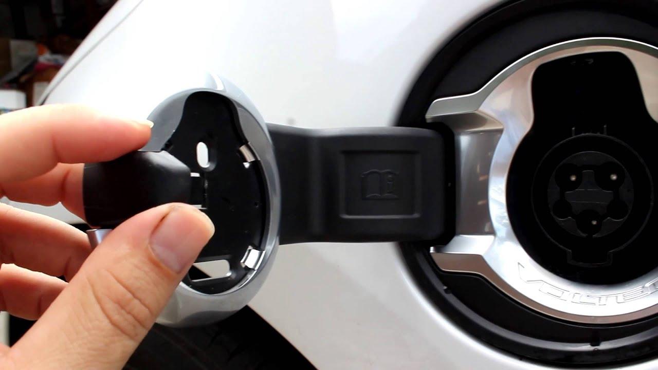 Chevy Volt Charge Door Fix Youtube