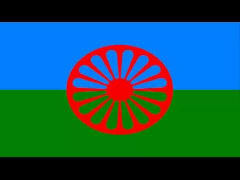 Bandeira do povo cigano