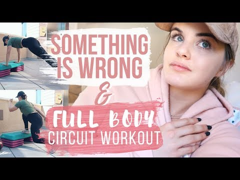 HEALTH / FITNESS UPDATE | Sharing My Struggles + Full Body Fat Burning Circuit Workout