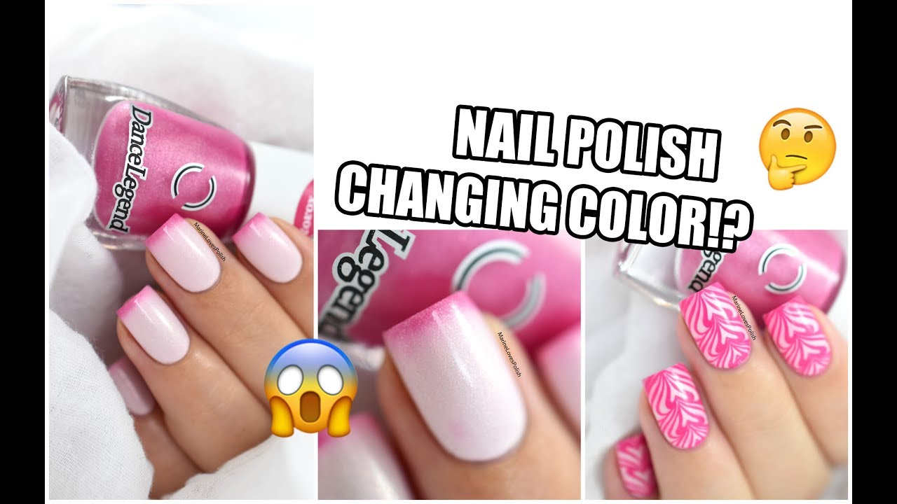 How To: Color Changing Thermal Polish + Watermarble ...