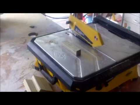 Wet saw changed to a Wood saw HD