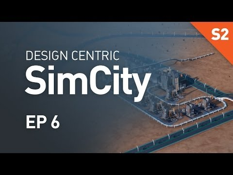 EP 6 - The Most Beautiful OmegaCo Factory (Design Centric SimCity Cities of Tomorrow - Season 2)