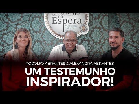 Um Testemunho Inspirador! -  Rodolfo Abrantes e Alexandra Abrantes